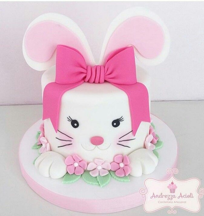 1000 Ideas About Bunny Cakes On Pinterest Easter Bunny Cake