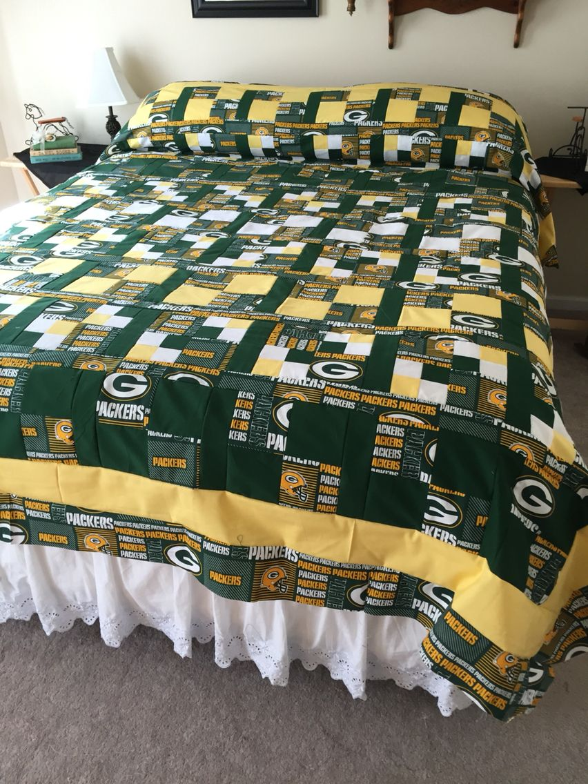 Queen Greenbay Packers Quilts Sports Quilts Football Quilt Cowboy Quilt