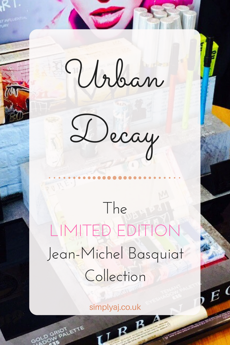 Urban Decay: Jean-Michel Basquiat Collection