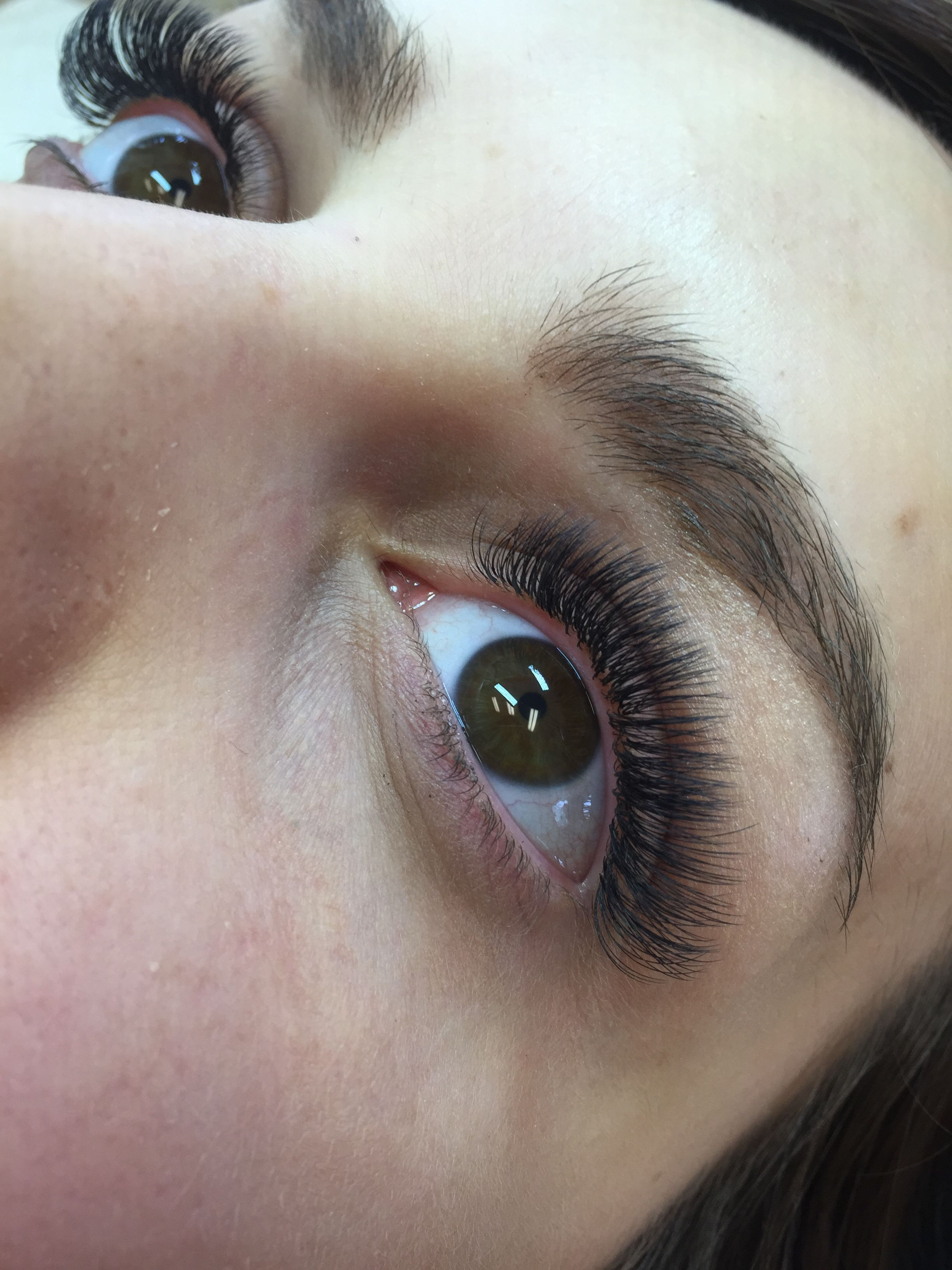 Full And Natural Volume Eyelash Extensions From Httpmaggslashes