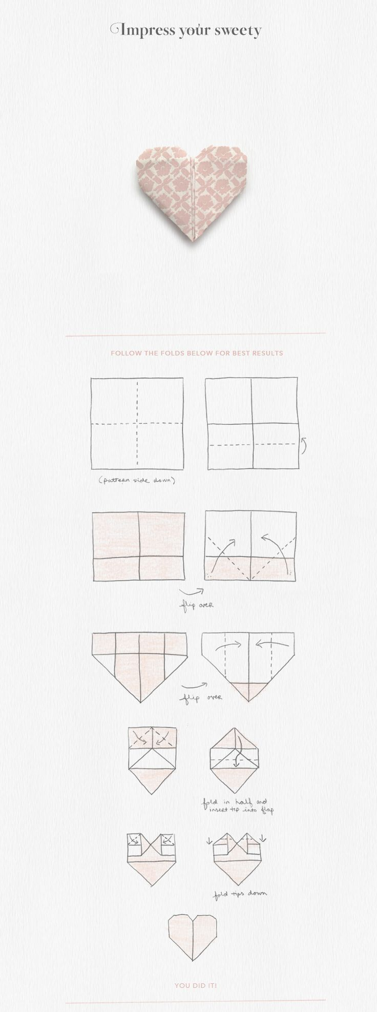 Photo of Origami | Heart | Valentines Day DIY | Craft | Animated Gif | Design | BHLDN | E…,  #Animat…