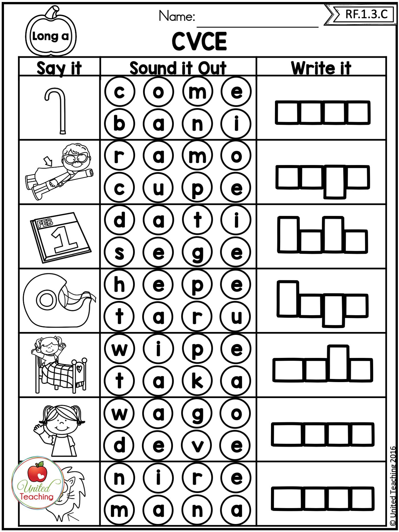 Fall Literacy Activities 1st Grade