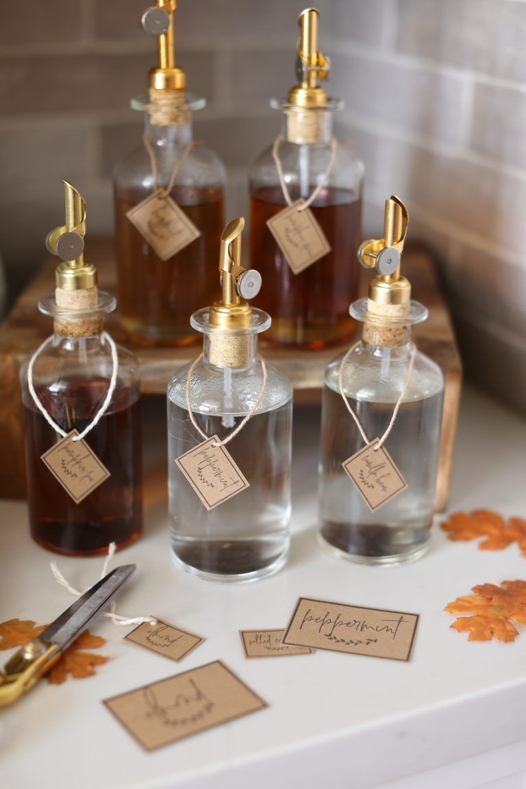Free Coffee Syrup Labels for Fall