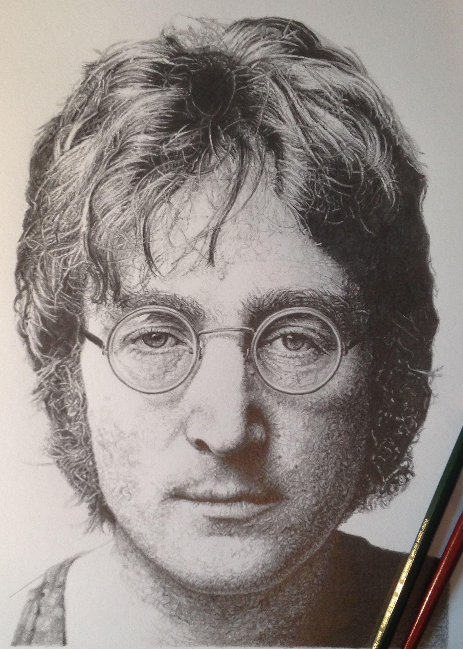 Wip johnlennon beatles pencil drawing portrait graphite wip johnlennon beatles pencil drawing portrait graphite graphitedrawing ccuart Image collections