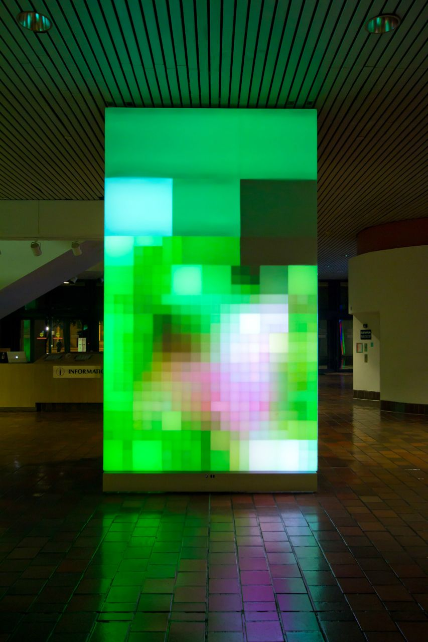 """Reflect"" / Ivan Toth Depeña #lightartinstallation"