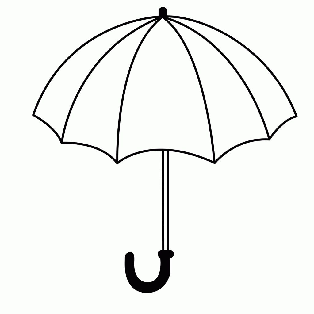 The Extraordinary Umbrella Coloring Pages Nature Coloring Pages