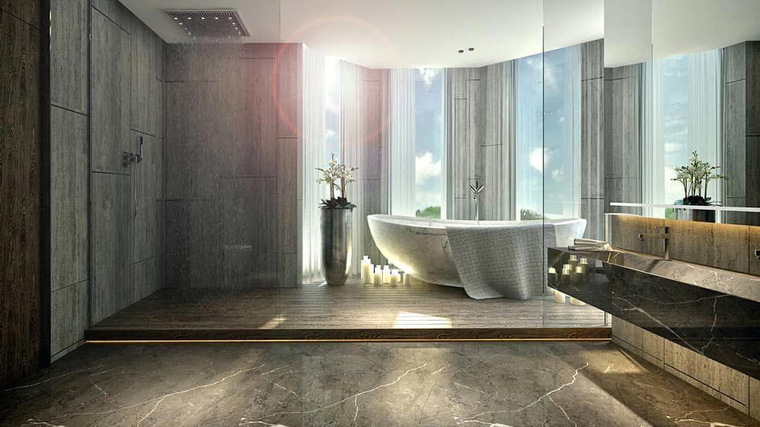 Easy Bathroom Floor Pensamentos Contemporarybathrooms Info 3257532975 White Marble Bathrooms Marble Bathroom Glass Tub