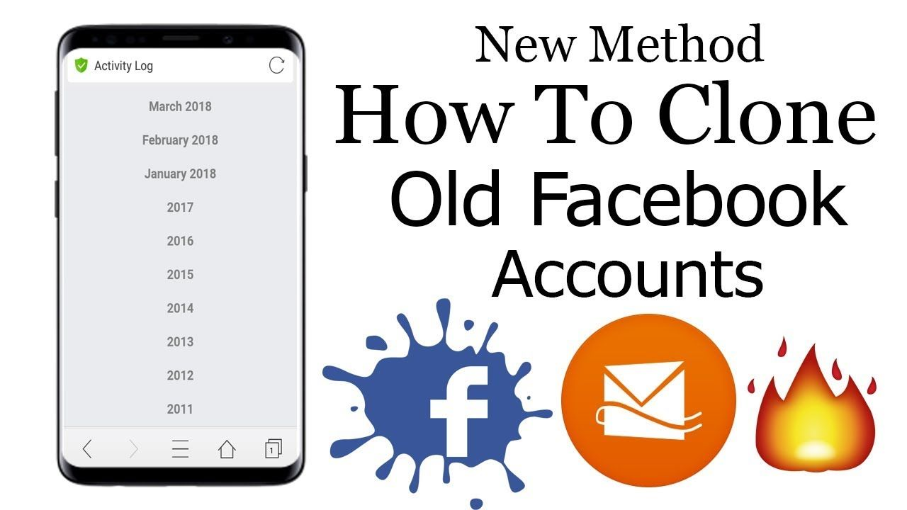 How To Clone Facebook Old Idz latest Working Method 2019