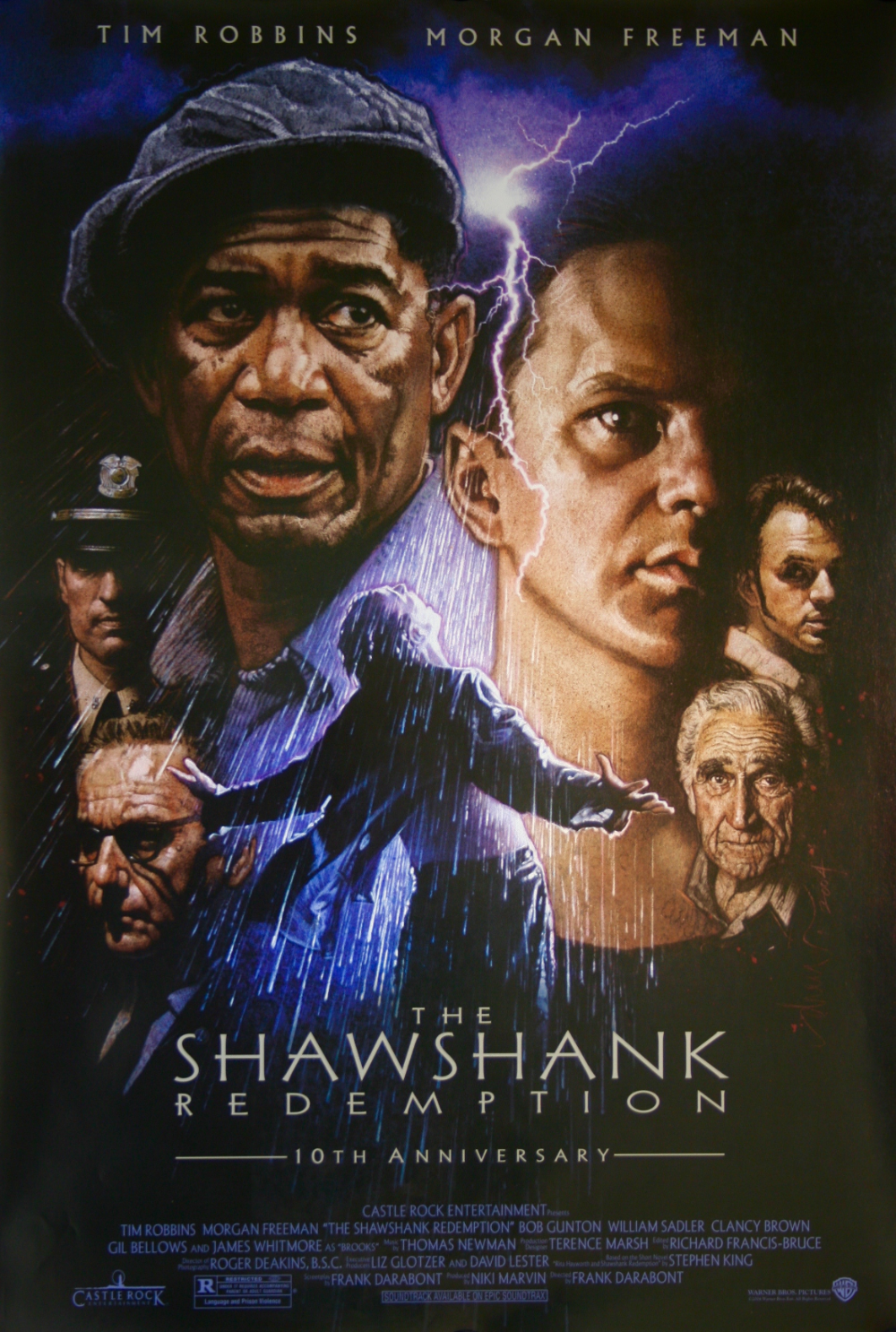 The Shawshank Redemption Movie Poster Rare Poster In 2020 The Shawshank Redemption Easy Movies Movie Posters Vintage