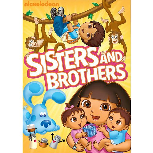 Nickelodeon Favorites Sisters And Brothers Dvd Nickelodeon Toys R Us Nick Jr Nickelodeon Dora The Explorer