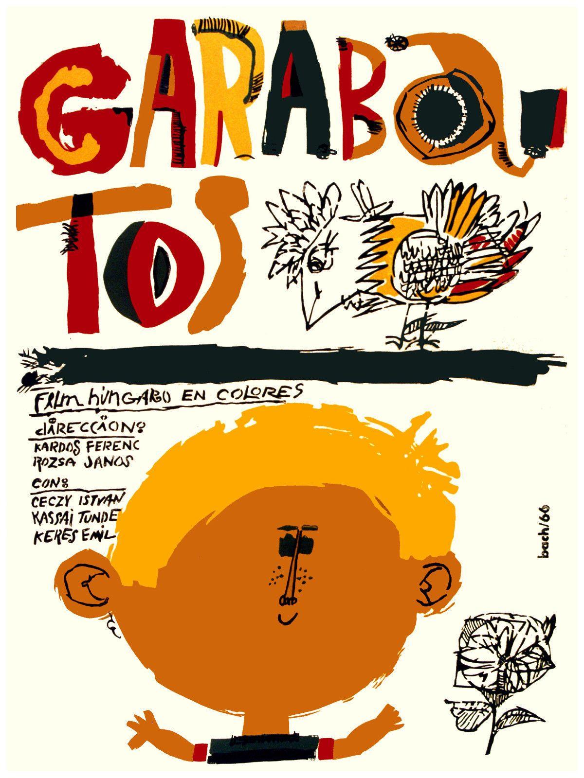 Cuban decor Graphic Design movie Poster for ARGENTINA found Children.film
