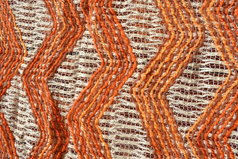 1970-80s weave drapes