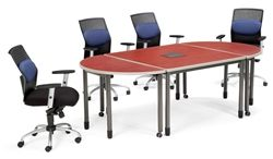 3 Piece Modular Conference Table By OFM At OfficeAnything.com. This Mobile Conference  Table
