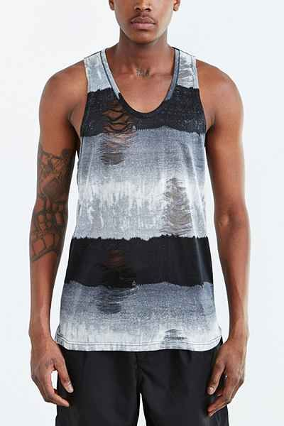 87120b708af6d Shades Of Grey By Micah Cohen Destroyed Tank - Urban Outfitters