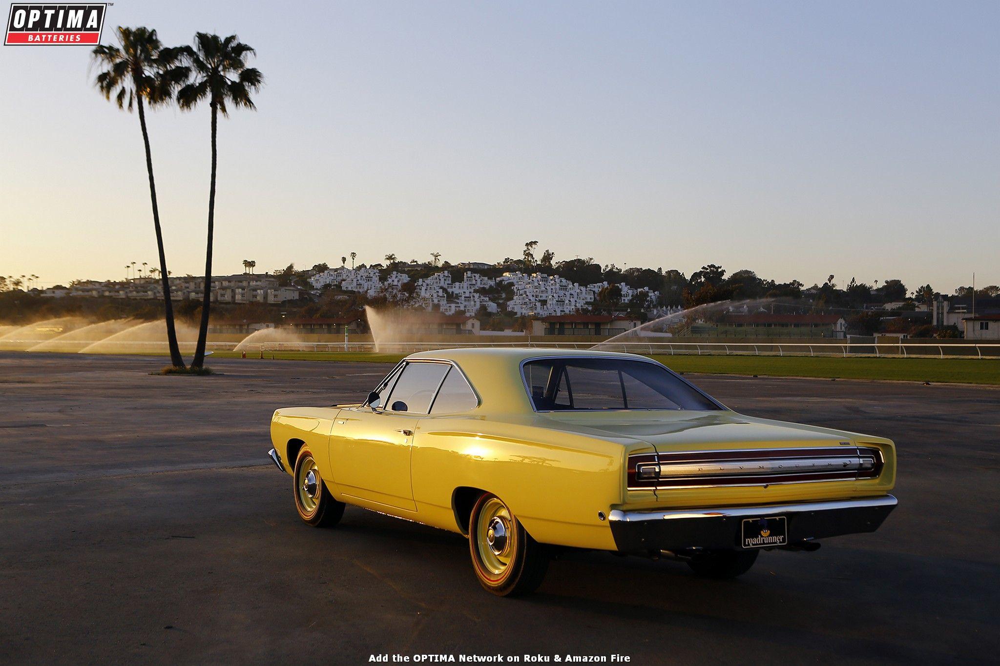 Walt & Tina Dias' 1968 #Plymouth #Roadrunner was a #Goodguys 2017 Muscle Car of the Year Finalist. www.powerpacknation.com