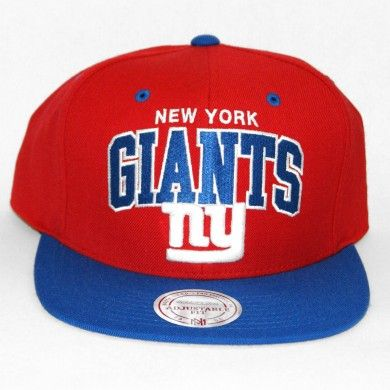 66af80d9f Mitchell   Ness New York Giants Arch Snapback