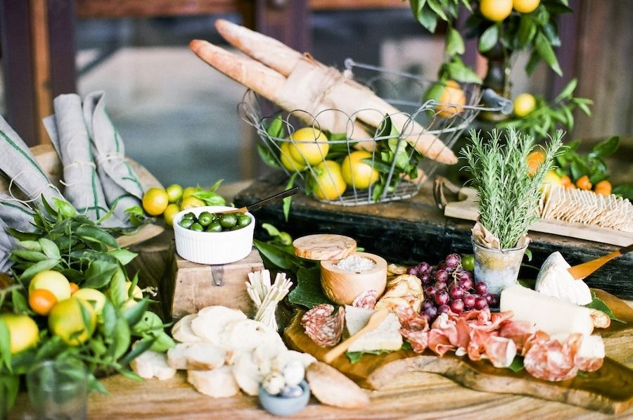 #appetizer, #bread, #entertaining, #buffet, #cheese-board, #citrus    Read More: http://www.stylemepretty.com/living/2013/10/16/the-perfect-charcuterie-spread-from-nancy-neil-ayda-robano/