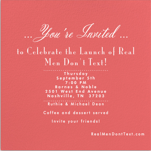 Invitation wording for book launch – Party Invite Text