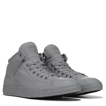 b338b7049259 Converse Chuck Taylor All Star High Street Mid Top Sneaker Dolphin  Monochrome