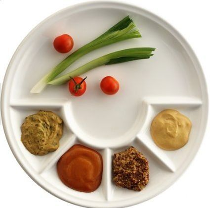Good Questions Non-plastic ided dishes for children  sc 1 st  Pinterest : plastic divided plates with lids - pezcame.com