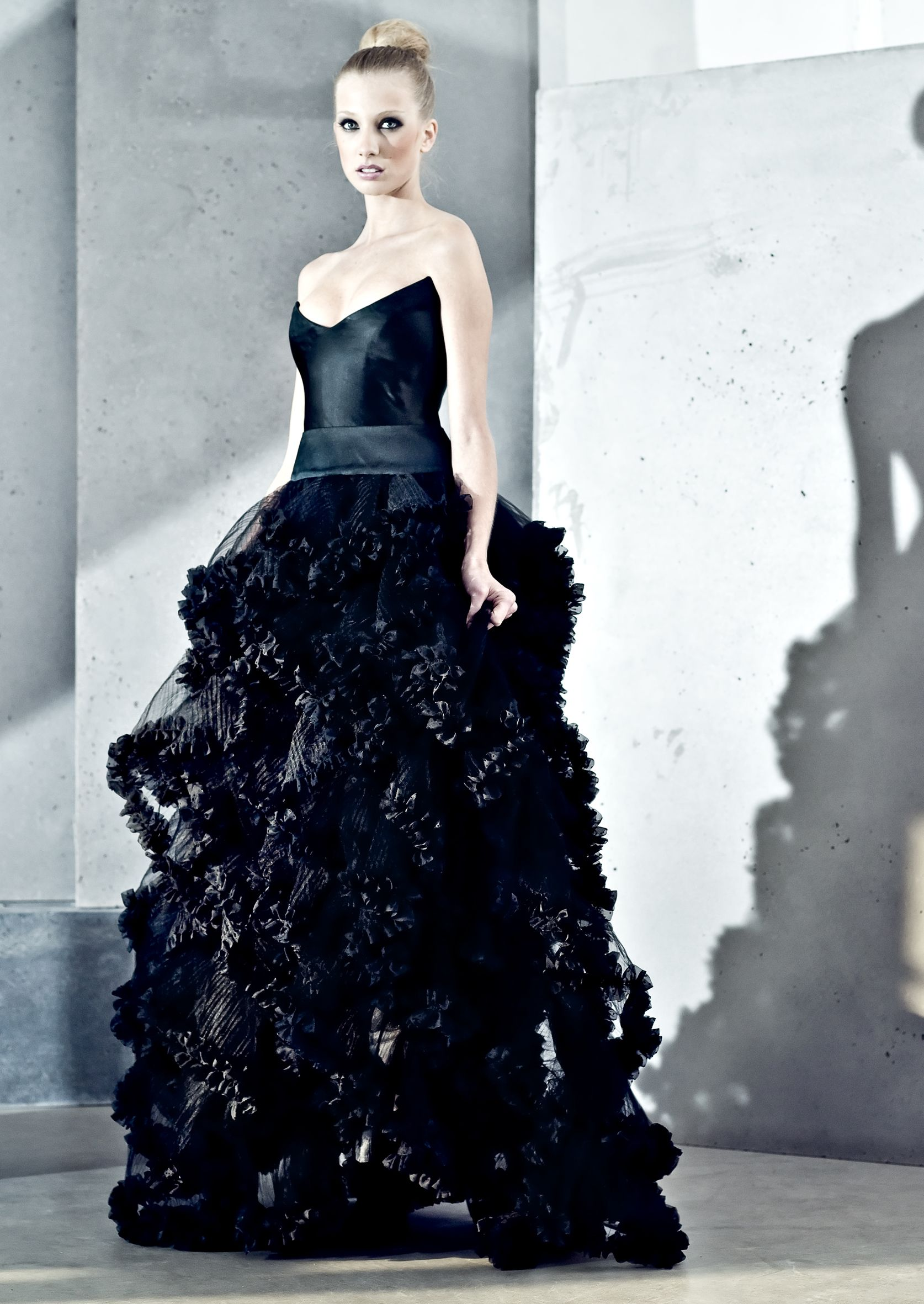 Gorgeously Gothic Amy Atlas Events Black Wedding Dresses Edgy Wedding Dress Goth Wedding Dresses