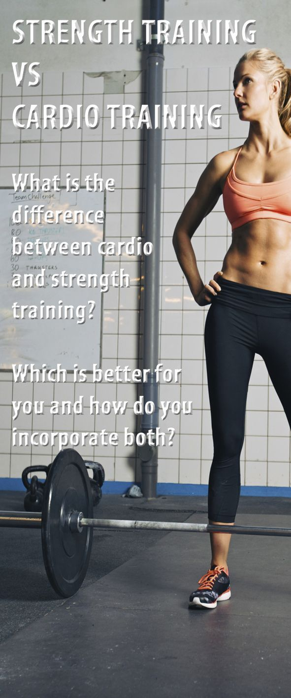 What is cardio training and what is it for? 100
