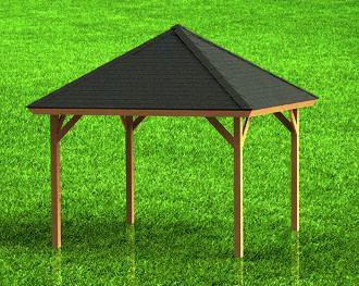 Gazebo With Hip Roof Building Plans Hot Tub Gazebo Gazebo Pavilion Plans
