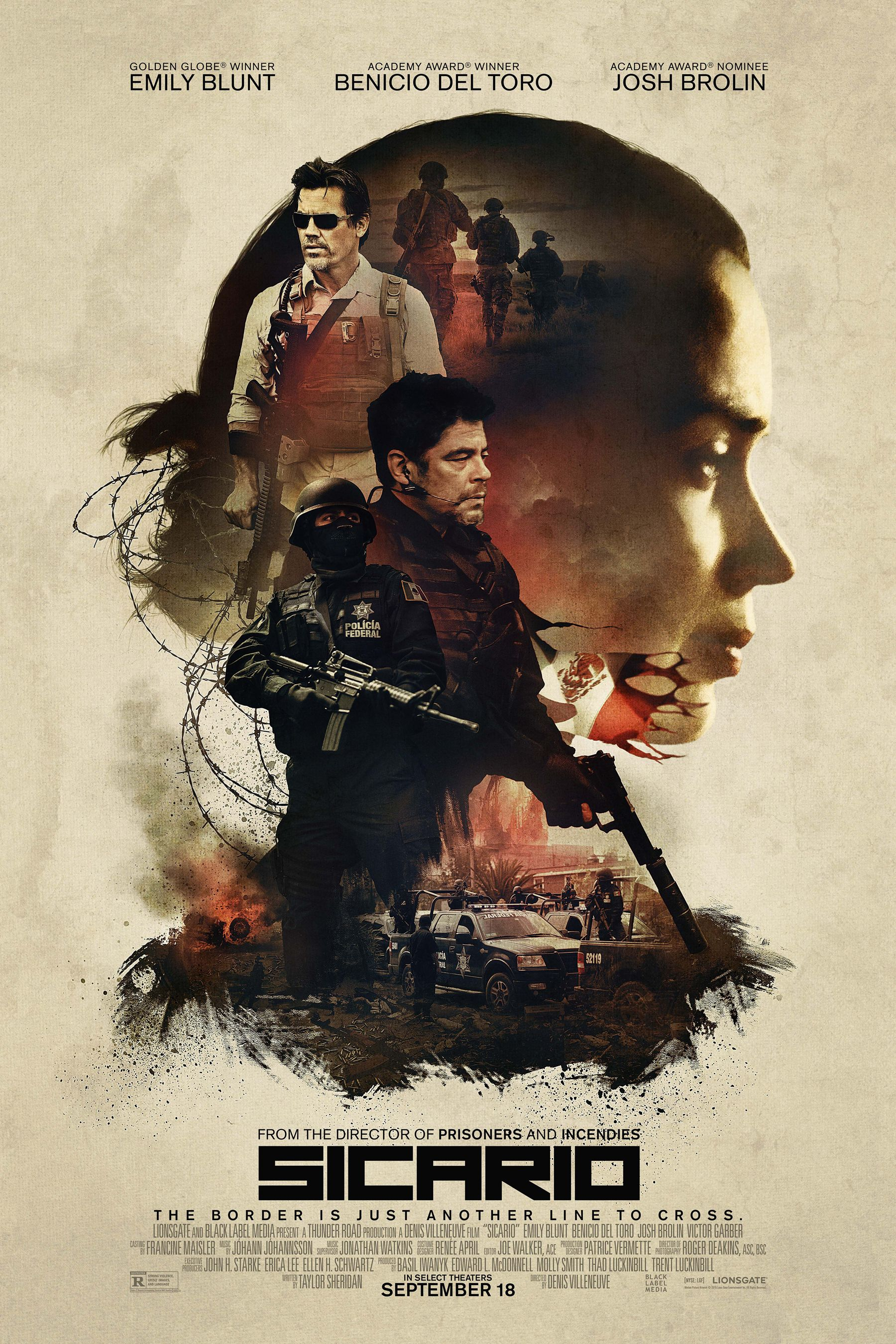all movie posters and prints for sicario joblo posters