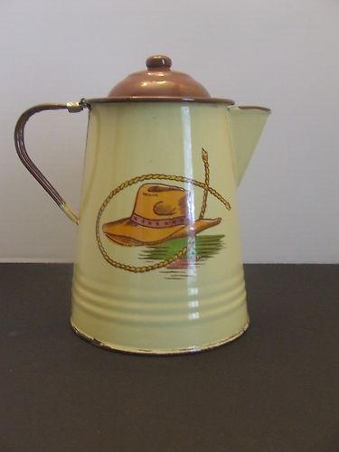 Vintage Monterrey Western Ware Coffee Pot