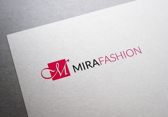 Mira Fashion Logo by XpertgraphicD on Creative Market