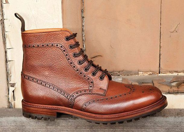 British Brogue Boot | Men's Style Blog | Pinterest | Shoes, Men's ...