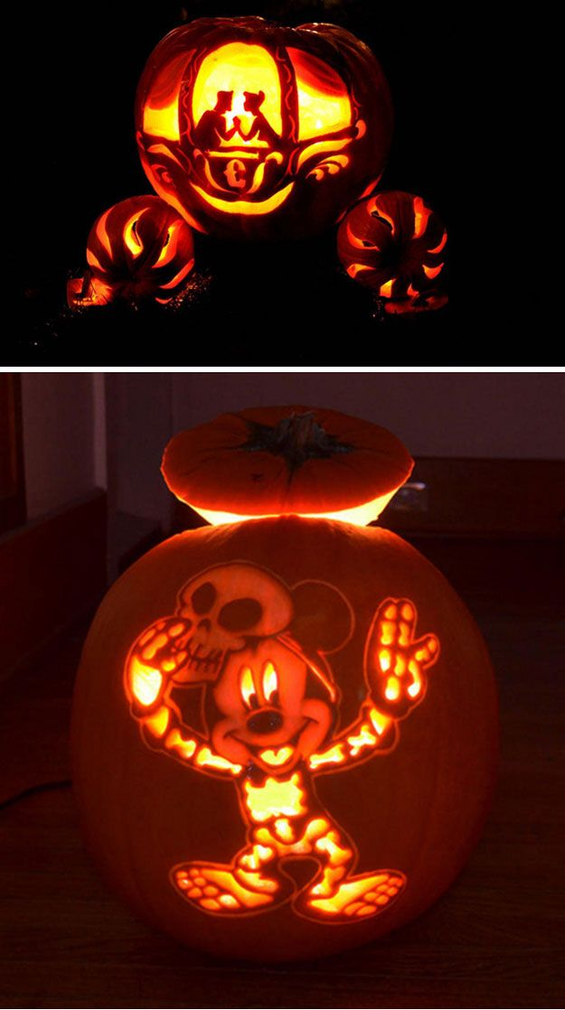 How to Carve a Pumpkin Disney pumpkin, Pumpkin carvings and - ways to decorate for halloween