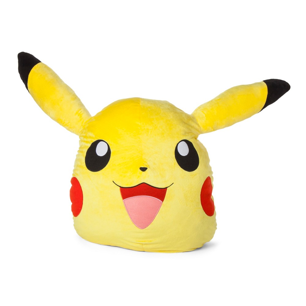 Pokemon Pikachu Yellow Novelty Pillow In 2020 Novelty Pillows Pikachu Pokemon