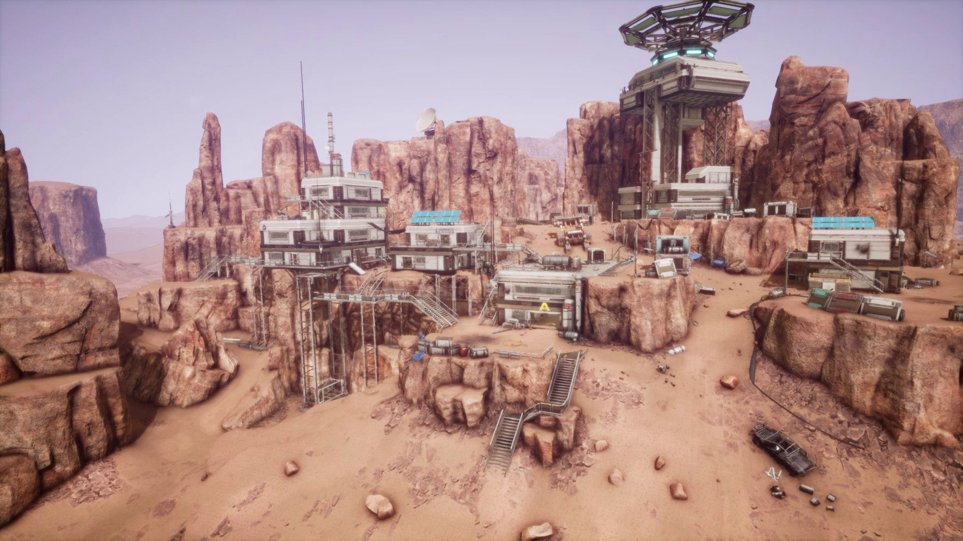 Memories Of Mars Open World Survival Game Set On Mars World