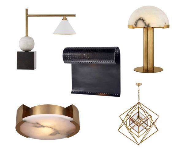 I Can T Wait To Get My Hands On Interior Design Star Kelly Wearstler S Stunning Lighting Collaboration With Visual Comfort Co