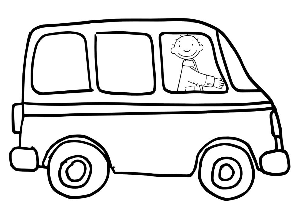 Kleurplaat Bus Peuter Idee 235 N Over Kleurpagina S Voor