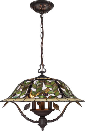 Elk Group International 08016 Tbh Latham Tiffany Pendant Chandelier Tiffany Inspired Stained Glass Shade In 2020 Art Nouveau Lighting Chandelier Art Small Chandelier