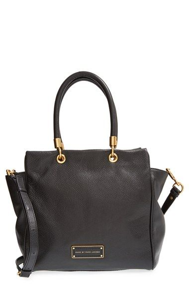 d8844e1f22 Free shipping and returns on MARC BY MARC JACOBS 'Too Hot to Handle -  Bentley' Leather Tote at Nordstrom.com. Lustrous pebbled leather composes  an ...