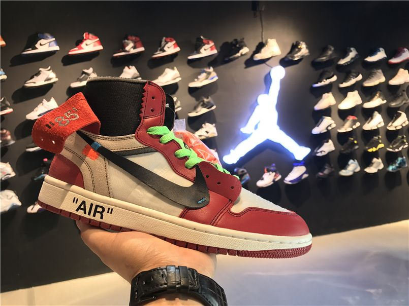 "new arrival 4ad46 22e86 2017 OFF-WHITE x Air Jordan 1 Retro High OG ""The Ten"""