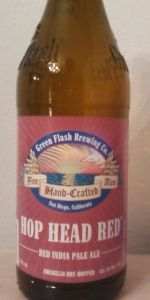 Green Flash Hop Head Red Ale | Green Flash Brewing Co. | San Diego, CA