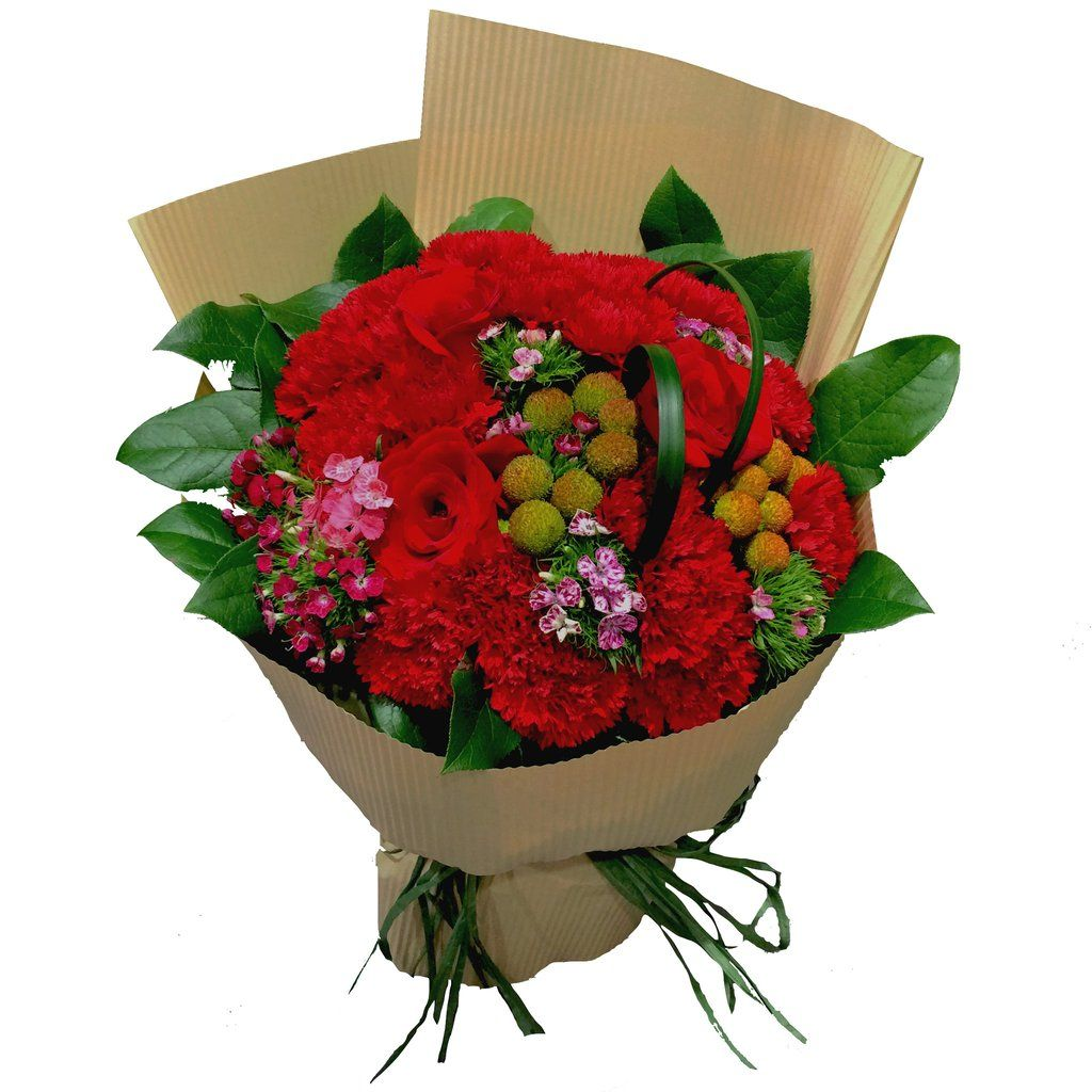 Red Carnations Flower Bouquet Nly U Pinterest Red