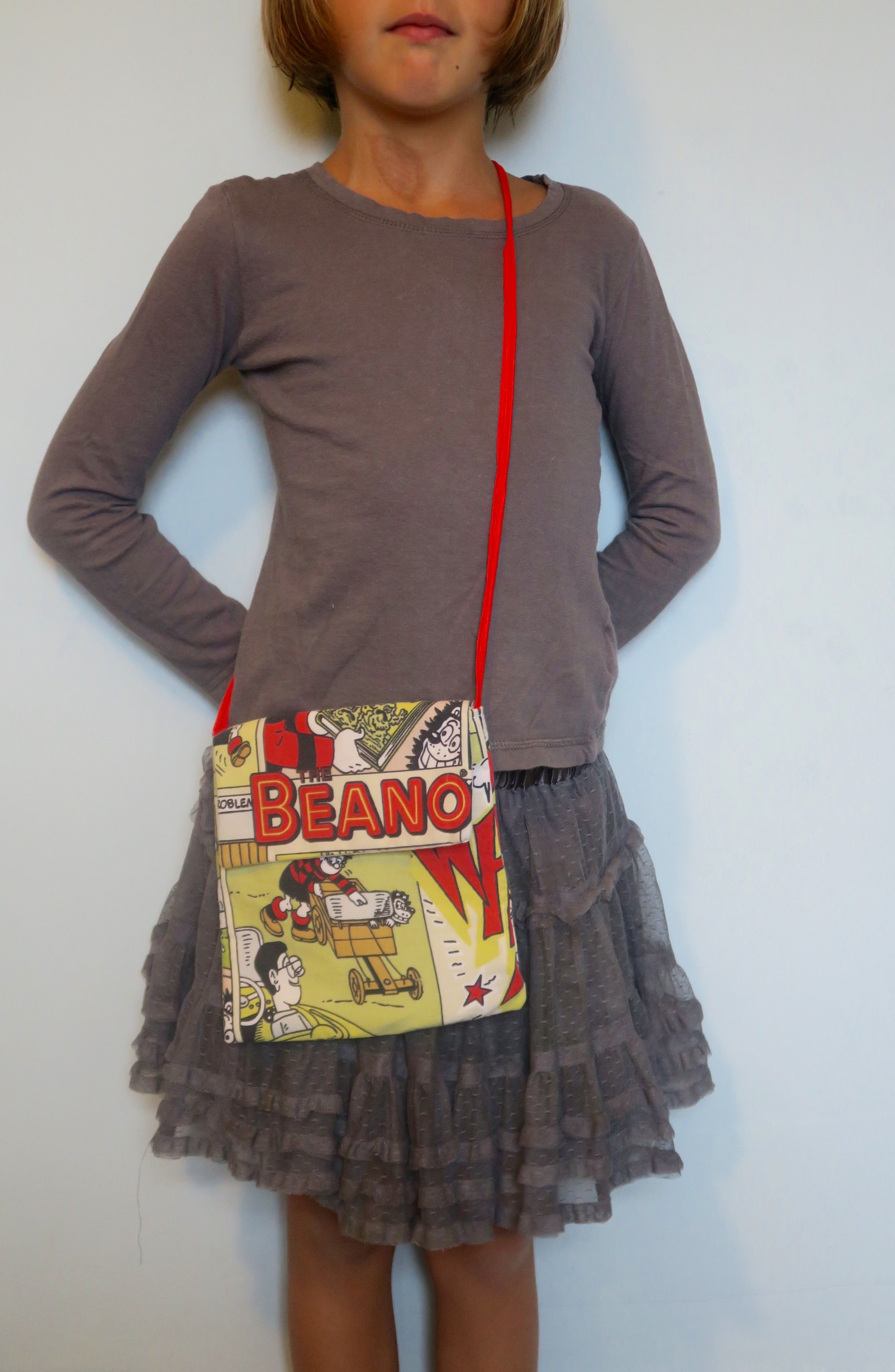 Little Bag - Made with Beano fabric