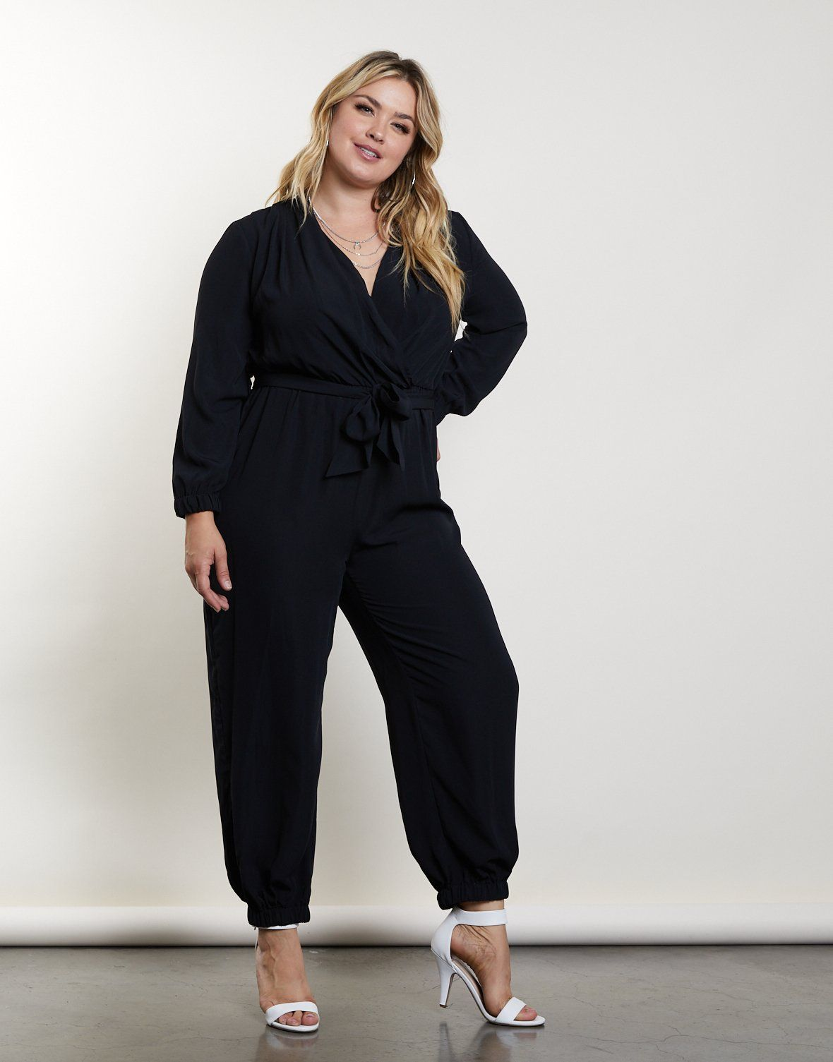 Plus Size In The Dark Jumpsuit Newontheave Pinterest Llenitas