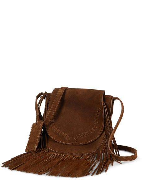 Fringed Suede Cross-Body - Polo Ralph Lauren Hobos   Shoulder Bags -  RalphLauren.com 0a5e5bcae50cf