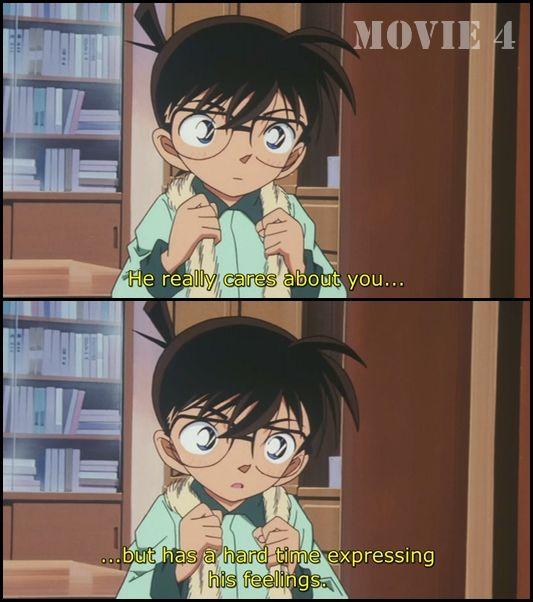 Ran: What's Kudo Shinichi like? #DetectiveConan #Movie4