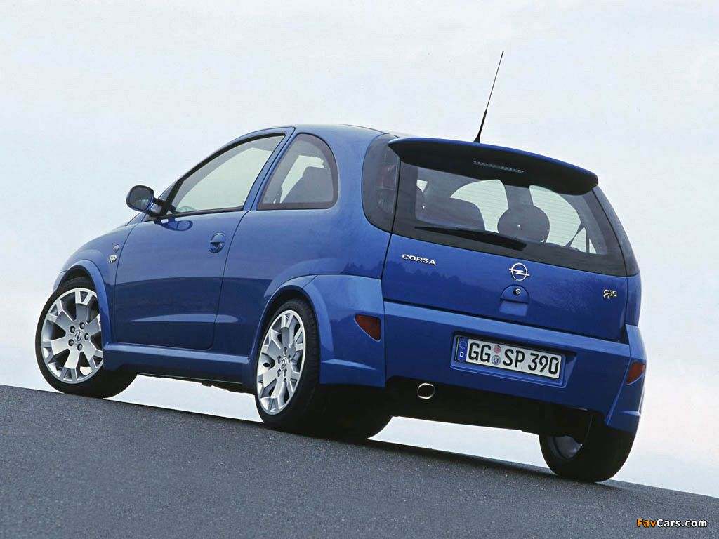 Pictures Of Opel Corsa Opc C 2002 03 Opel Corsa Hot Hatch Concept Cars
