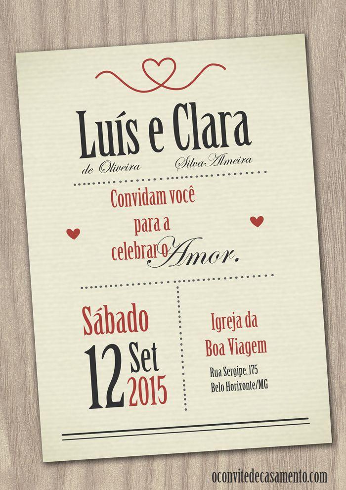 Convites Online Casamento Modernos A Em 2019 Convite