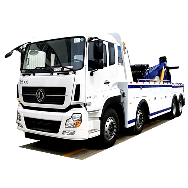 12 Wheel Dongfeng 40ton To 50ton Road Towing Wrecker Truck Fuel Truck Trucks Towing