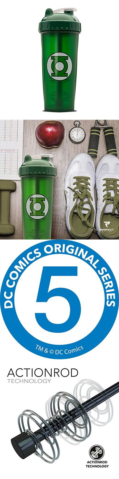 Performa Perfect Shaker - Green Lantern Shaker Bottle, Best Leak ...