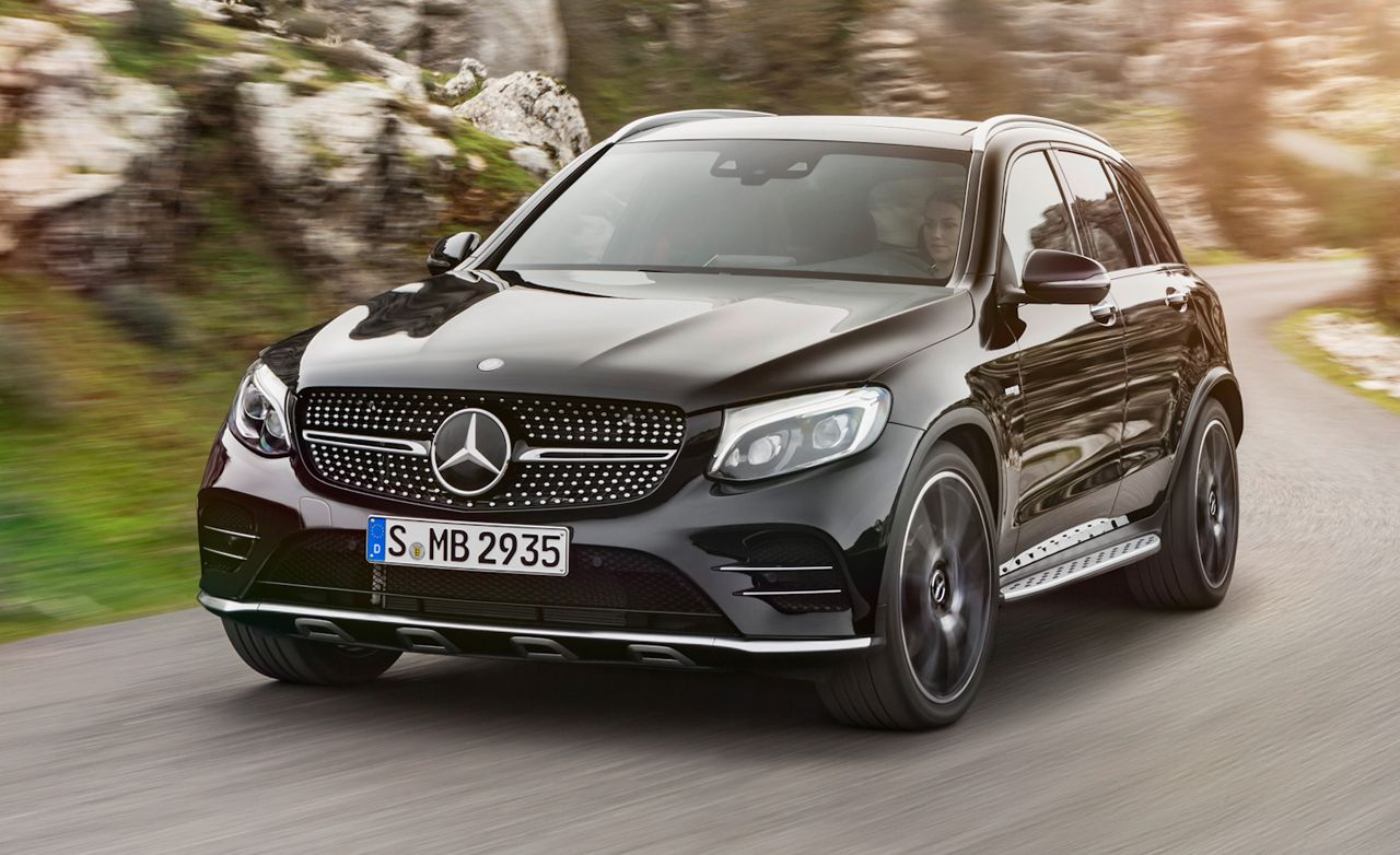 2019 Mercedes Amg Glc43 4matic Glc63 4matic Reviews Mercedes